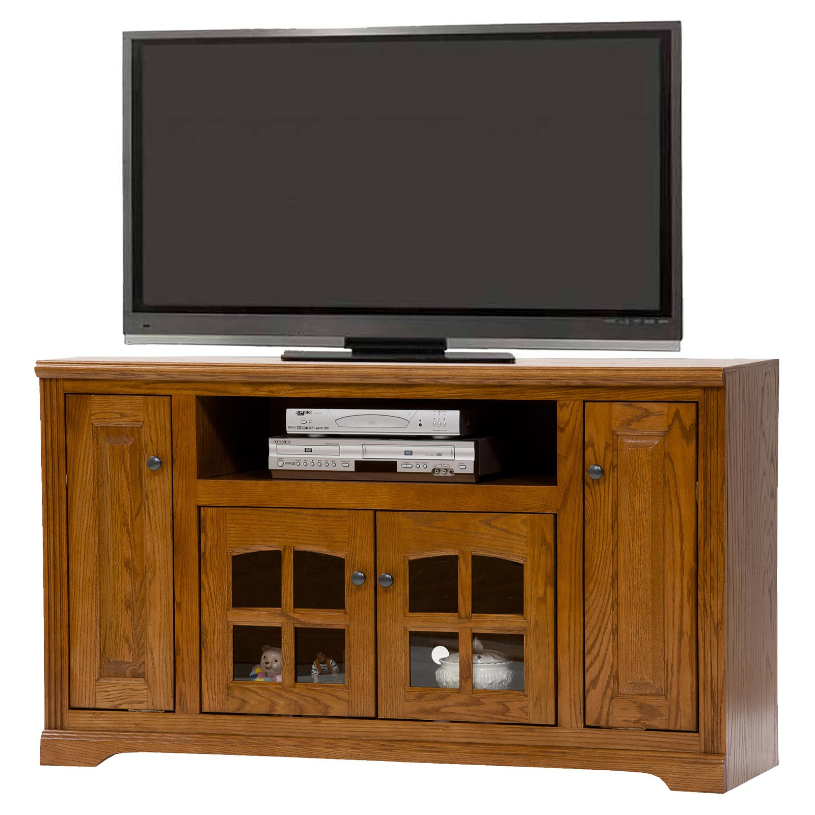 American Heartland Oak TV Stand - Assorted Finishes