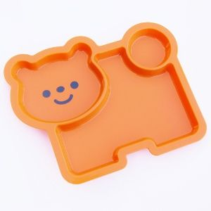 Dog shaped ided plastic childrenu0027s plate from the Eats Amazing UK Bento Shop - make healthy  sc 1 st  Pinterest & Dog shaped ided plastic childrenu0027s plate from the Eats Amazing UK ...