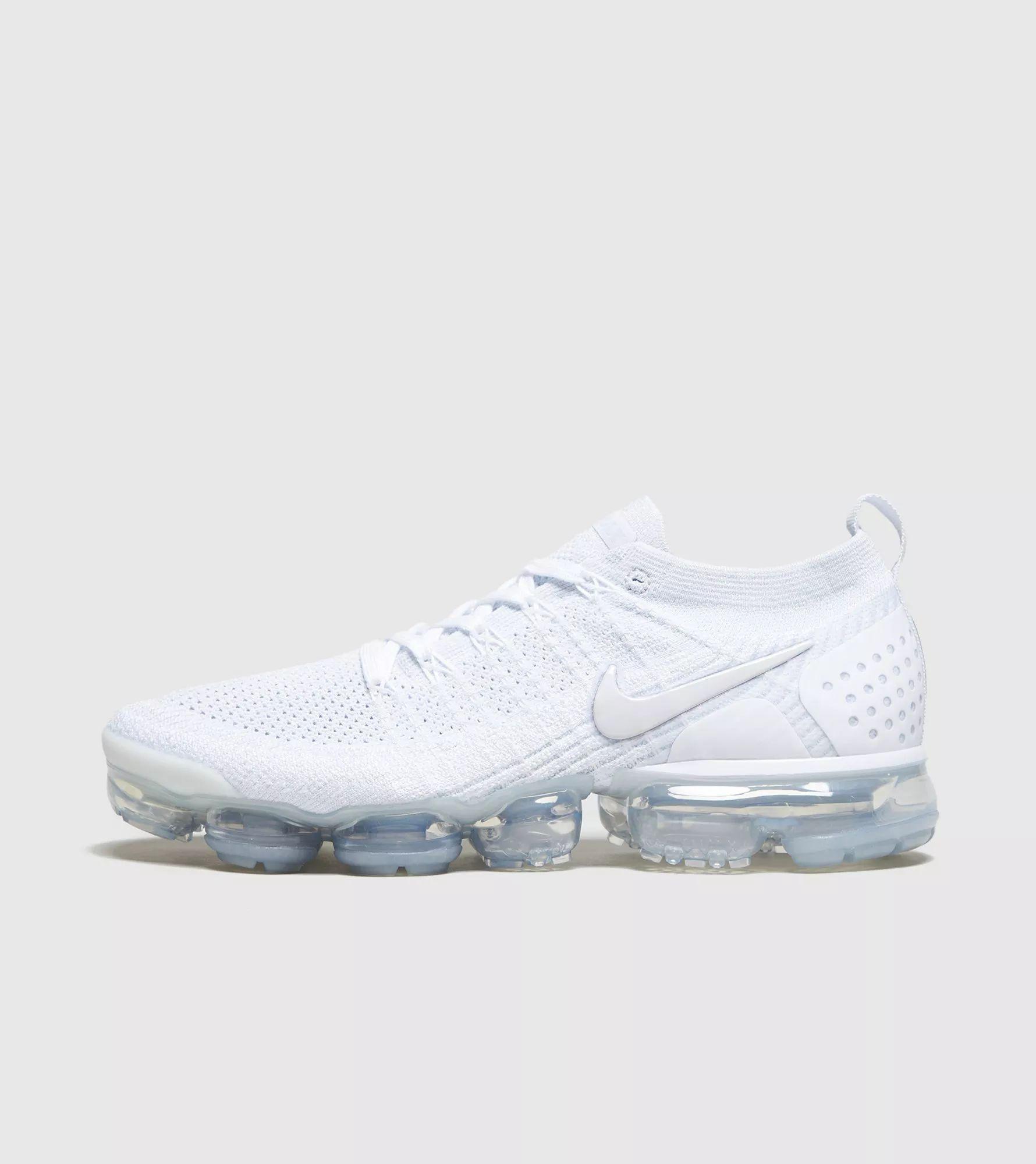 official photos c27eb 38032 Nike air vapormax flyknit 2 white white vast grey