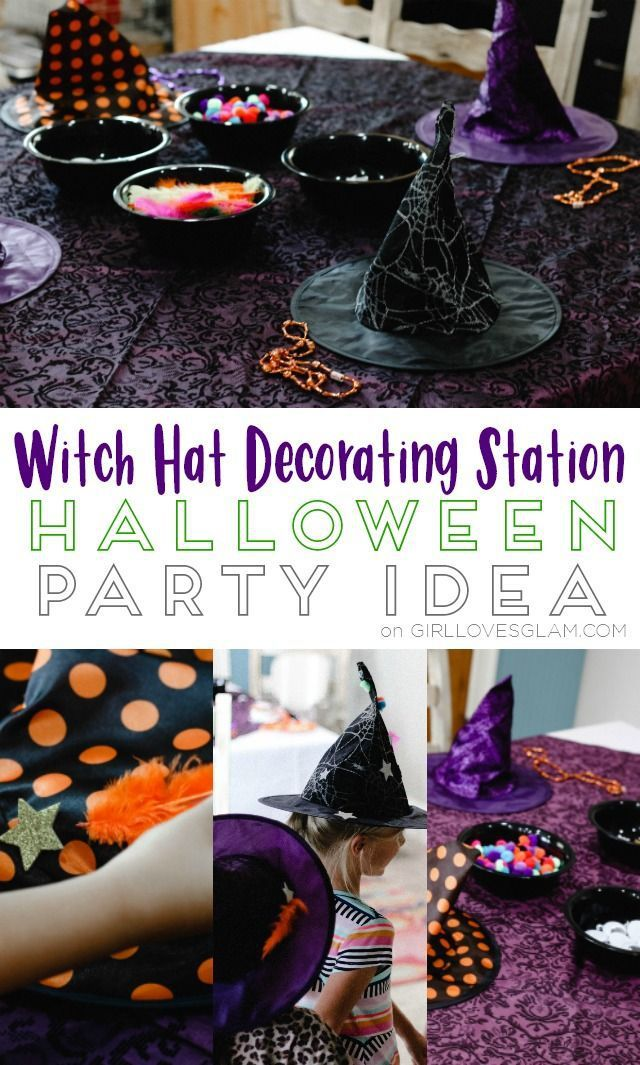 Best Diy Crafts Ideas For Your Home  Witch Hat Decorating Station - halloween class decoration ideas
