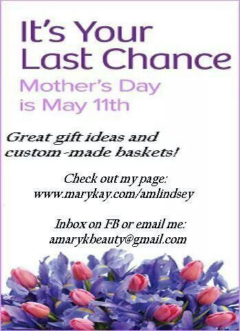 Mother's day discounts!!