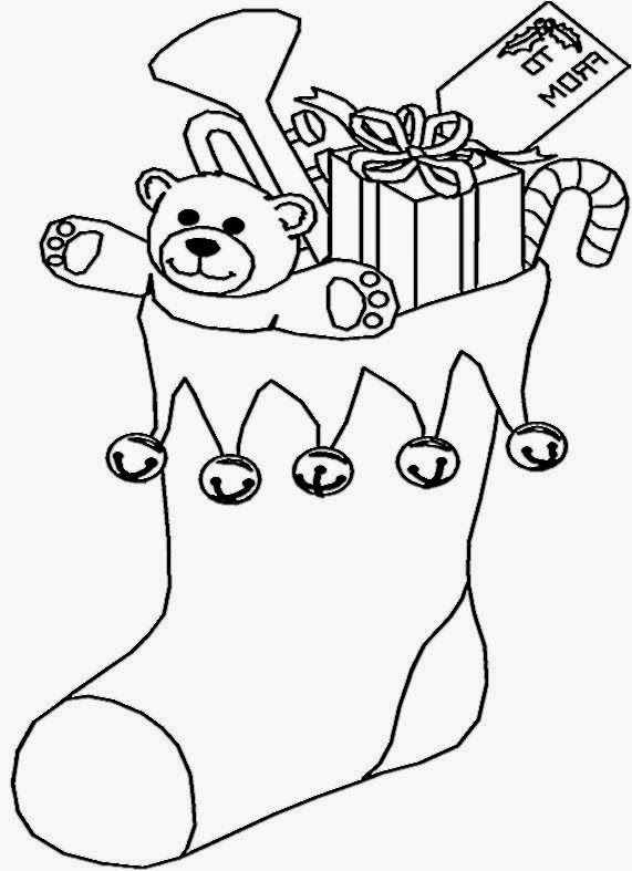 Christmas Pictures For Kids To Color   Free Coloring Pictures   ZB ...