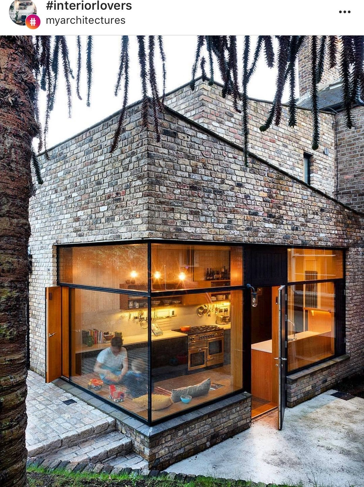 Brick House Addition In Dublin: Brick Architecture, Architecture, Dublin House