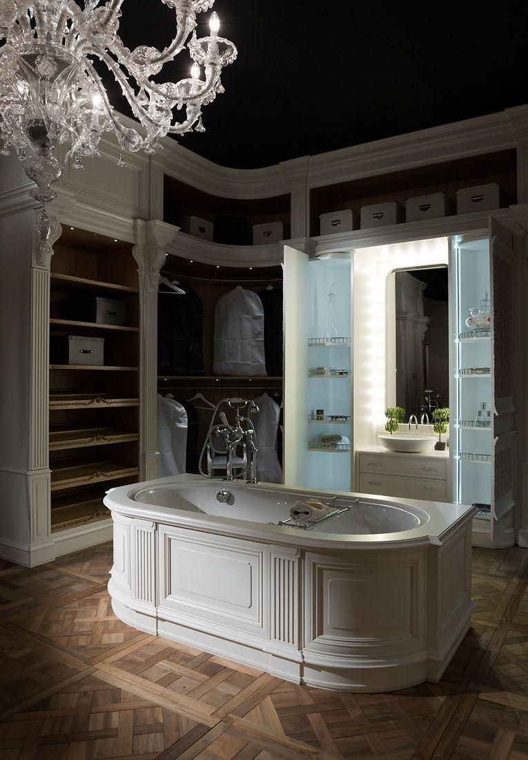 Armadio Con Cabina A Roma.Roma Luxury Bathroom Prestige Luxury Bathroom Luxury Living