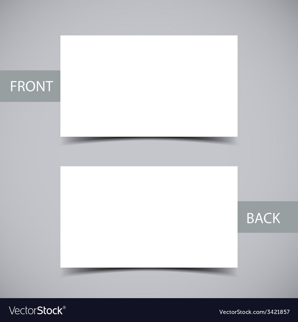 Business Card Template With Blank Business Card Template Download Business Card Templates Download Blank Business Cards Business Card Template Word