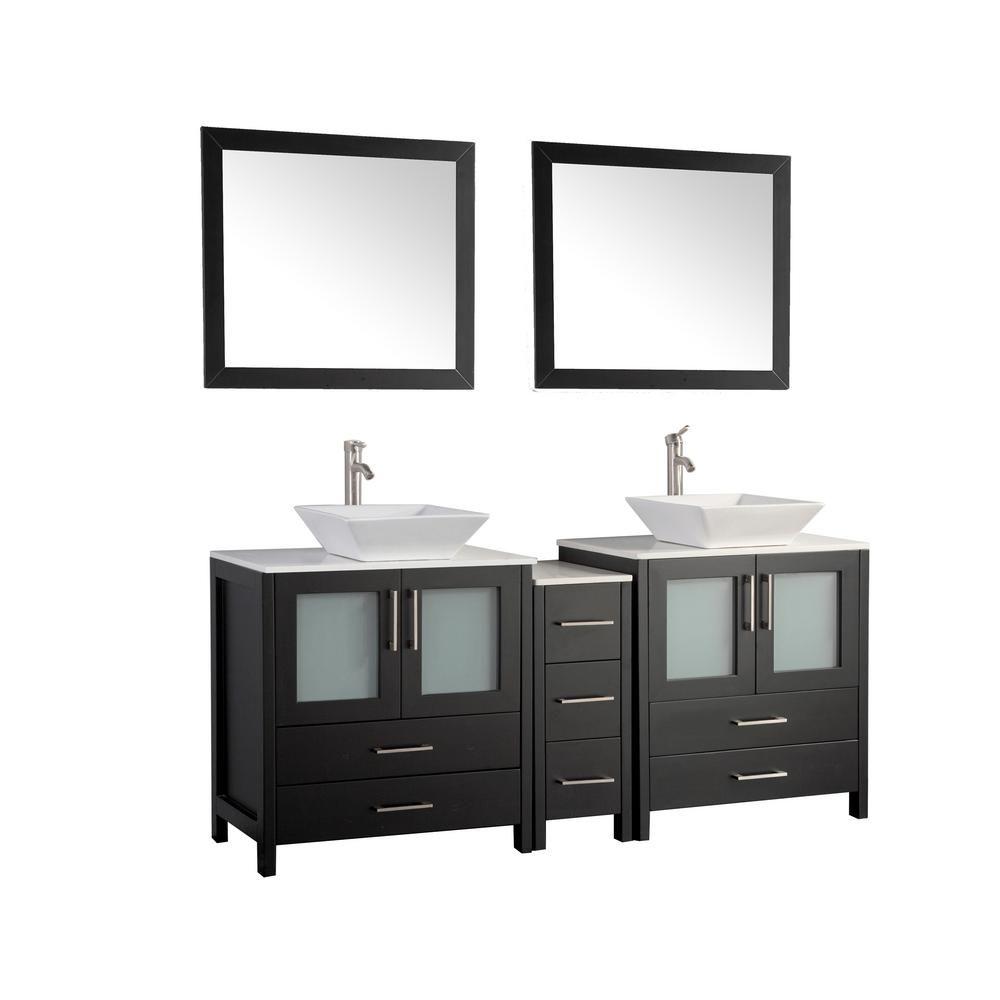 vanity art ravenna 72 in w x 18 5 in d x 36 in h bathroom vanity rh pinterest com