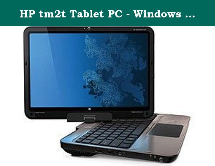"HP tm2t Tablet PC - Windows 7 Home Premium, Intel SU7300 1.30GHz, 8GB Memory, 500GB Hard drive, 12.1"" Touch-screen. Genuine Windows 7 Home Premium 64-bit."
