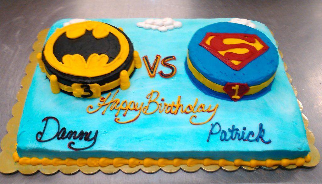 Batman Vs Superman Cake By Kittylouise Deviantart Com On