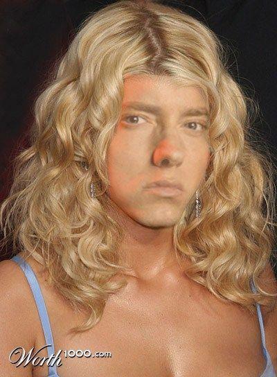 Eminem Jessica Simpson Hair Medium Hair Styles Curly Hair Styles