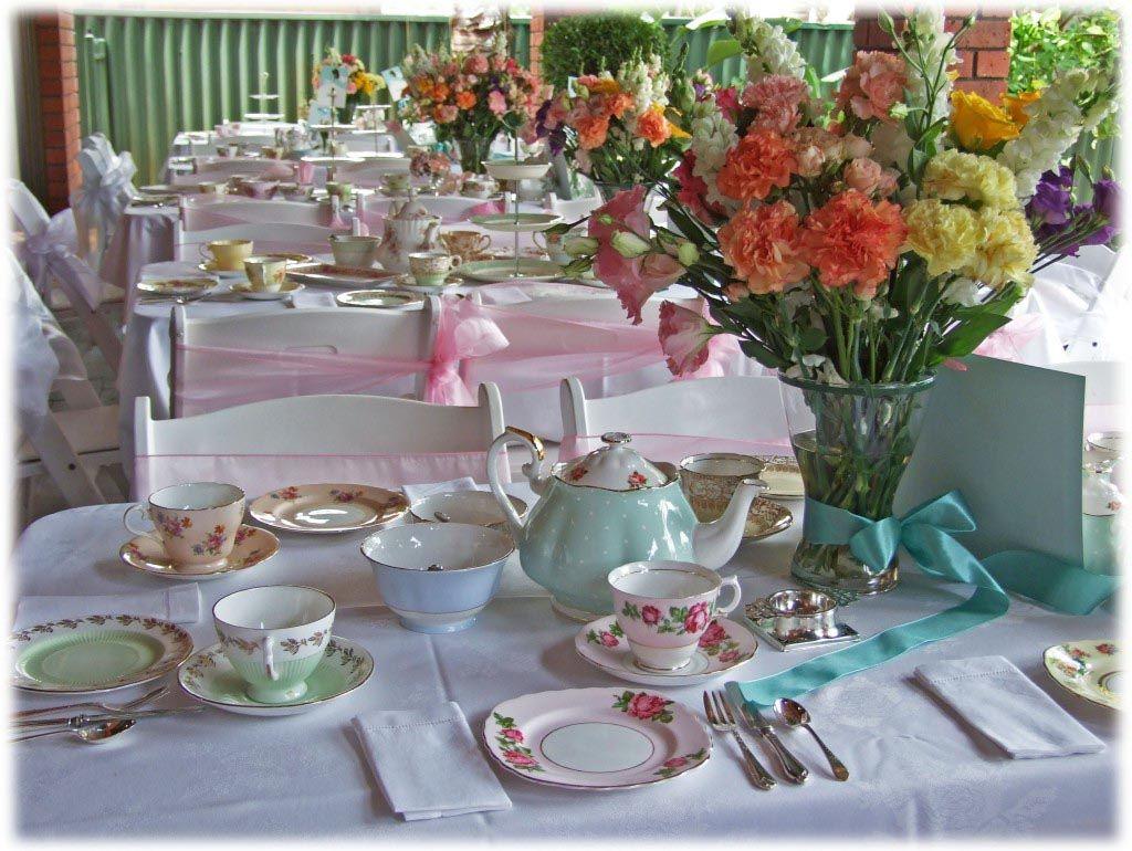 afternoon tewedding theme ideas%0A High Tea Party Themes