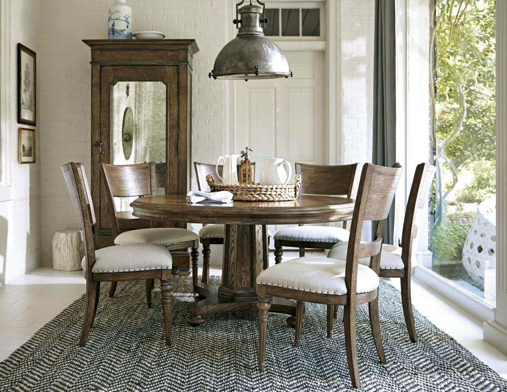 Keep it casual with this dining set