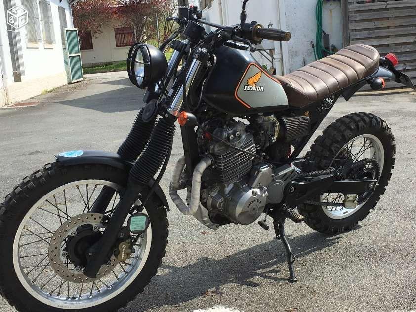 honda 650 slr motos gironde the garage moto scrambler moto motos. Black Bedroom Furniture Sets. Home Design Ideas