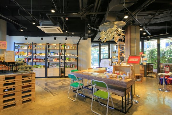 Charming Commercial Interiors · The Green Atrium Supermarket By MaS Studio, Hong  Kong » Retail Design Blog