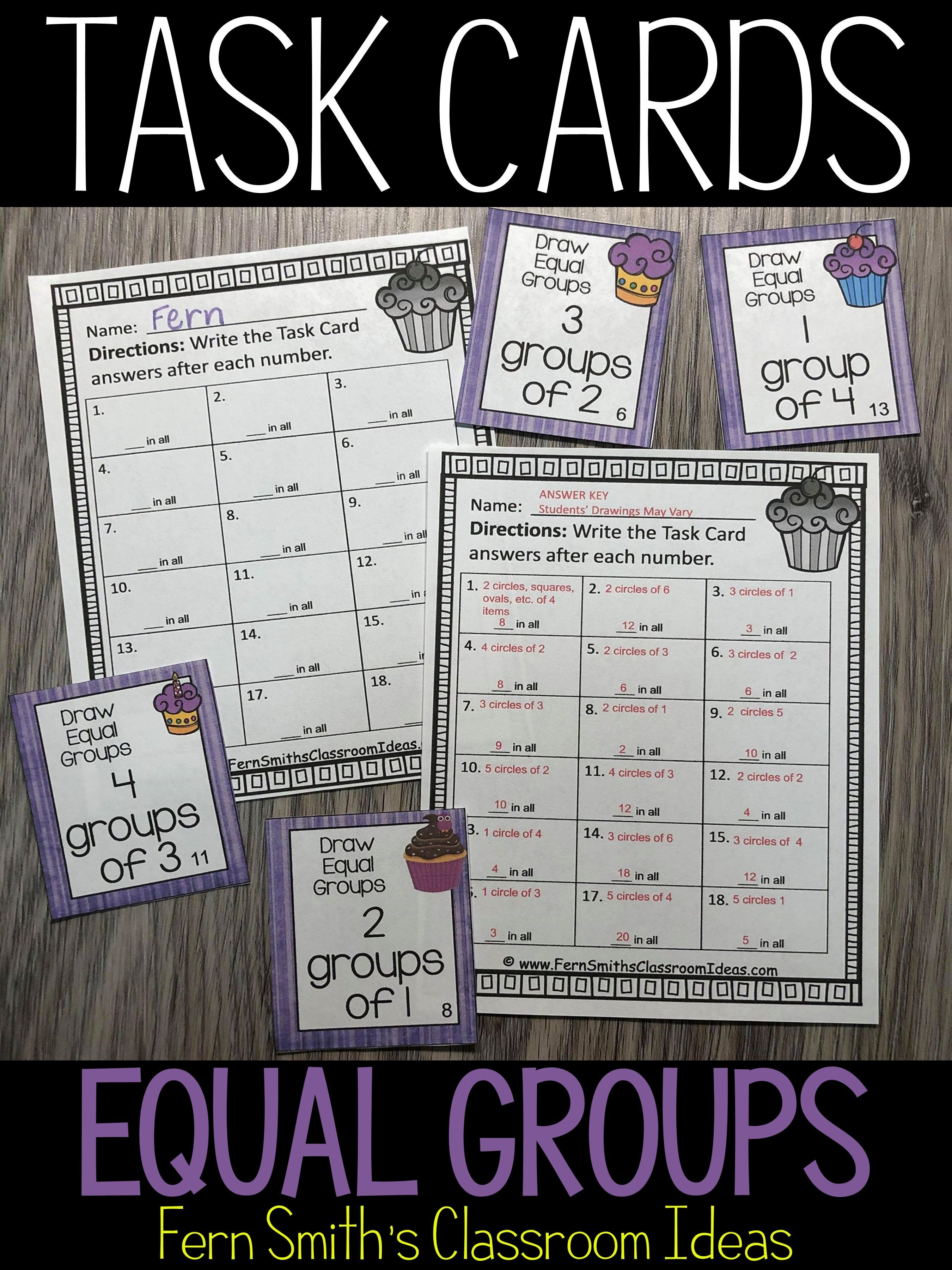 Pin On Multiplication Task Cards