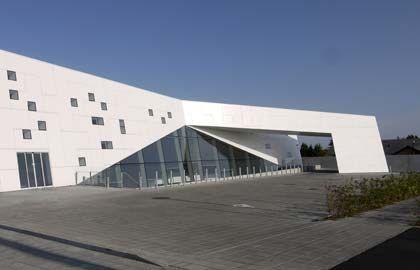 Look Dinamico Per Broerup Sparekasse Arketipo Exterior Cladding Cladding Building Facade