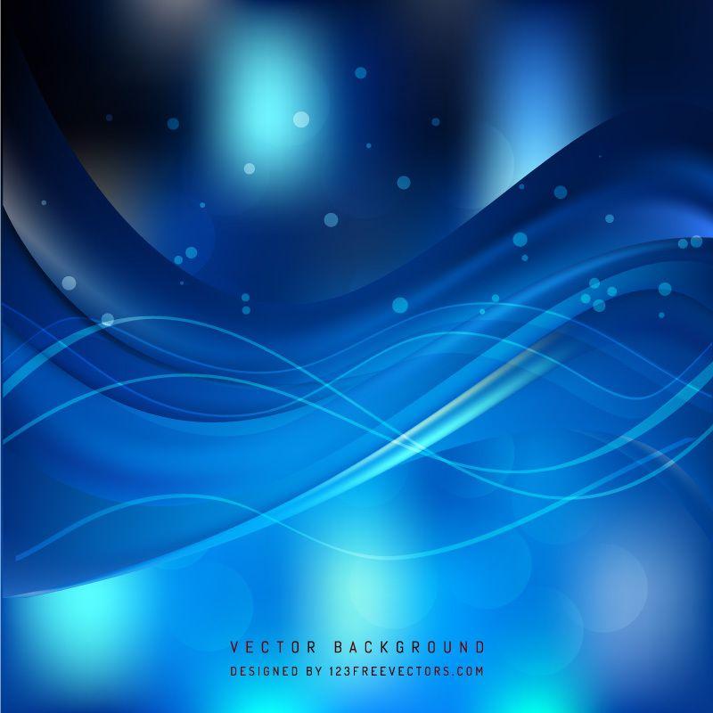 Navy Blue Wave Background Image