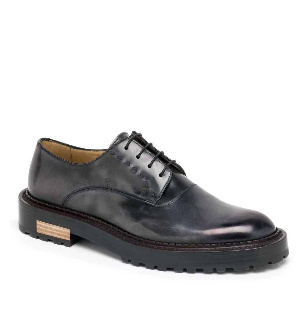 Ala?a Leather Derbies Shop Offer Online Buy Cheap Latest Discounts BOkYHv2