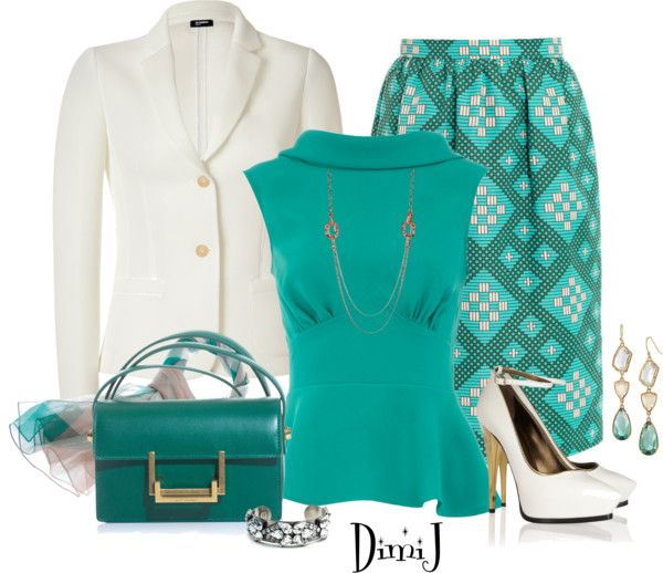 """J.S.R. Skirt"" by dimij ❤ liked on Polyvore"