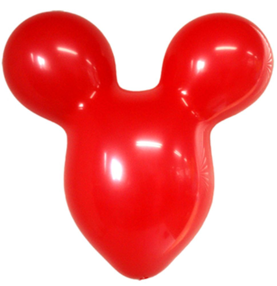 5X Red Mickey Mouse Head Shape Latex Balloons Birthday Party B Day Decorations Joyparty BirthdayChild