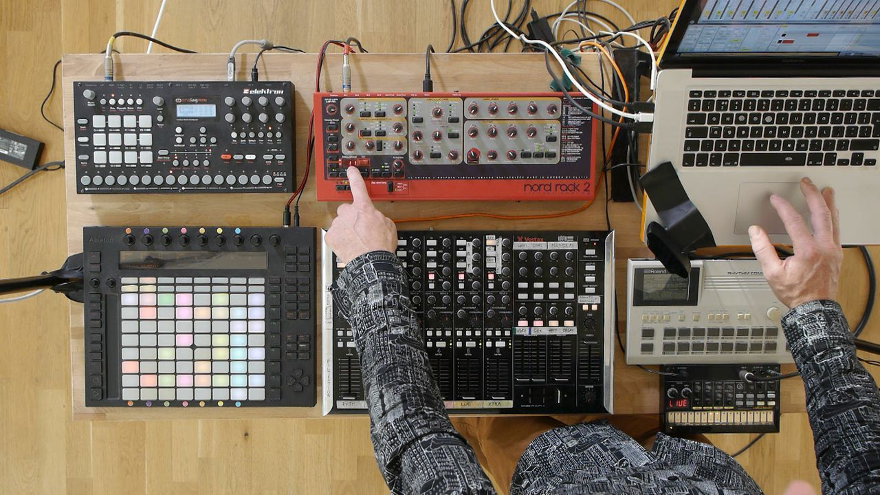 Ableton Certified trainer Mark Burnett shows you the ins & outs of live performance using a range of external instruments combined with Ableton Live.