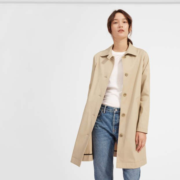 066dd84c754 Womens mac coat everlane modern essentials fall lookbook trending outfits  ethical fashion jpg 621x621 Everlane fall