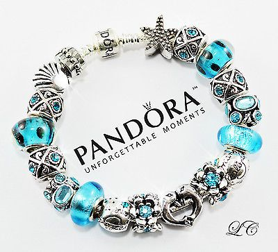 Authentic PANDORA 925 Sterling Silver Charm Bracelet and gift box- (P-99) - http://elegant.designerjewelrygalleria.com/pandora/authentic-pandora-925-sterling-silver-charm-bracelet-and-gift-box-p-99/