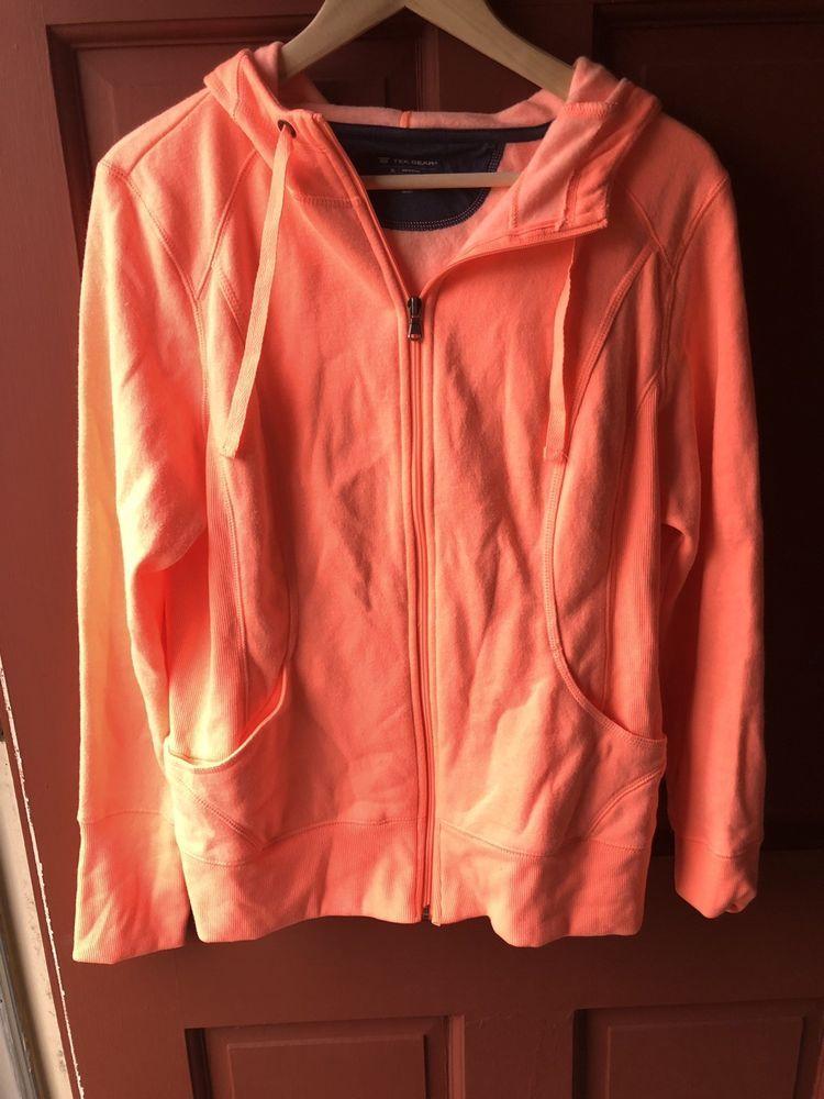fdb372c9bf Womens Size XL Neon Tek Gear Zipper Hoodie #fashion #clothing #shoes # accessories #womensclothing #activewear (ebay link)