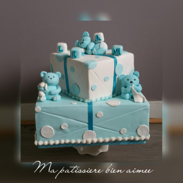pictures of a wedding cake g 226 teau bapt 234 me oursons g 226 teaux p 226 te 224 sucre 18385
