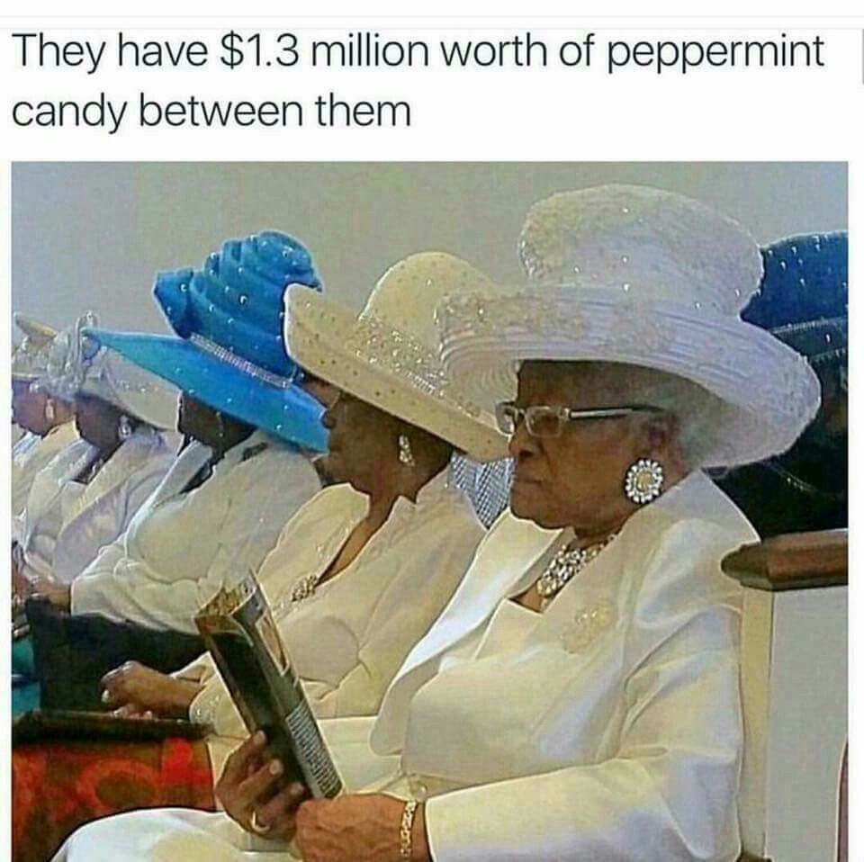 The Need To Do A Study About Why Old Women In Church Carry -2913