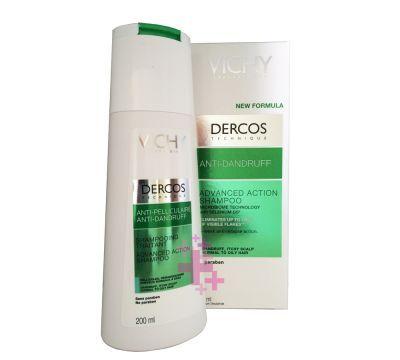 Vichy Dercos Shampoo Yagli Saclar Icin Kepek Karsiti Sampuan