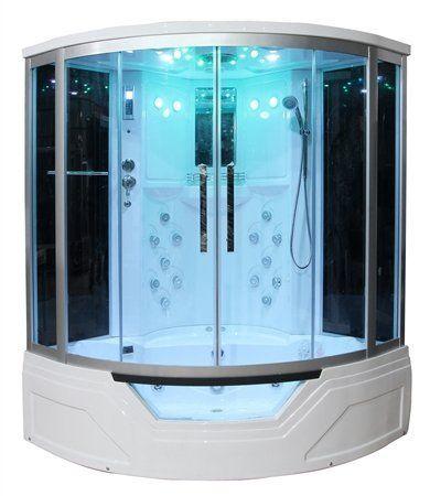 Eagle Bath Ws 703 59 Inch Steam Shower W Whirlpool Bathtub Combo