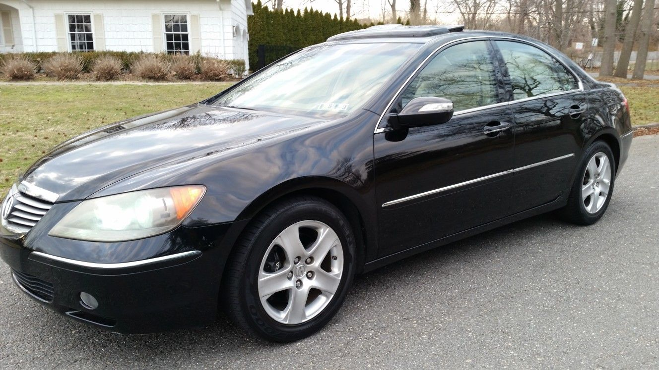For Sale ACURA RL SHAWD K BLACK TAN LEATHER TECH PKG - Acura rl 2006 for sale