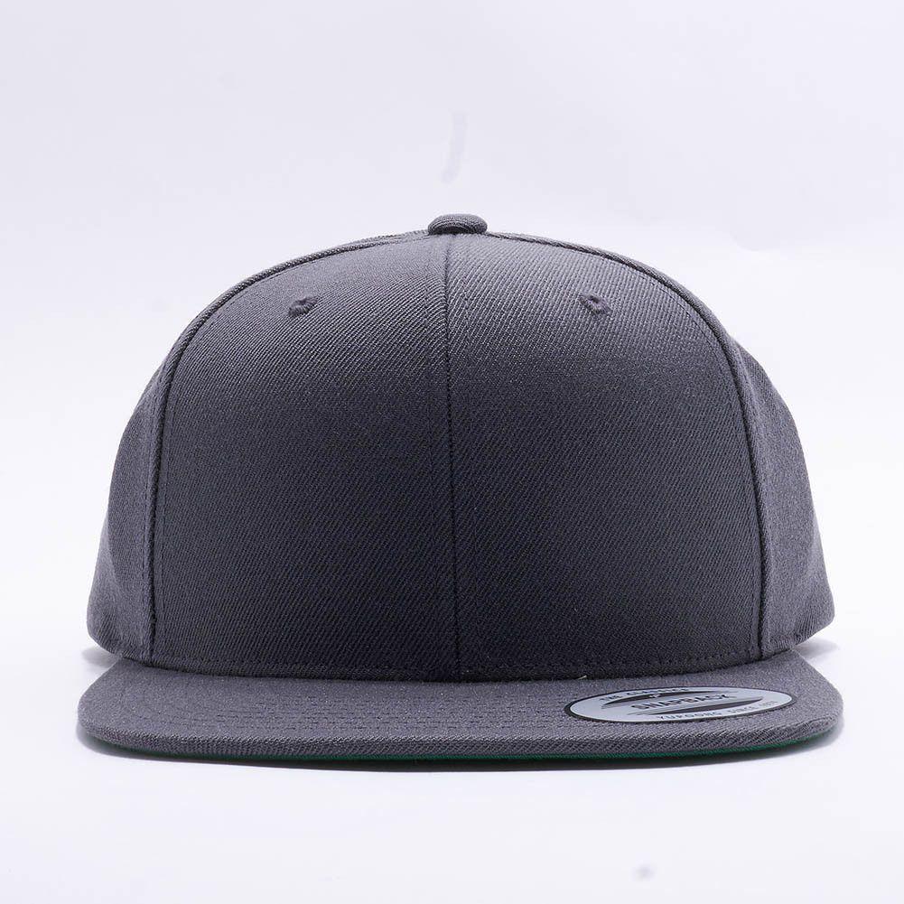 825d9b383 Wholesale Flexfit/Yupoong 6089M Premium Classic Snapback Hat [Dark ...