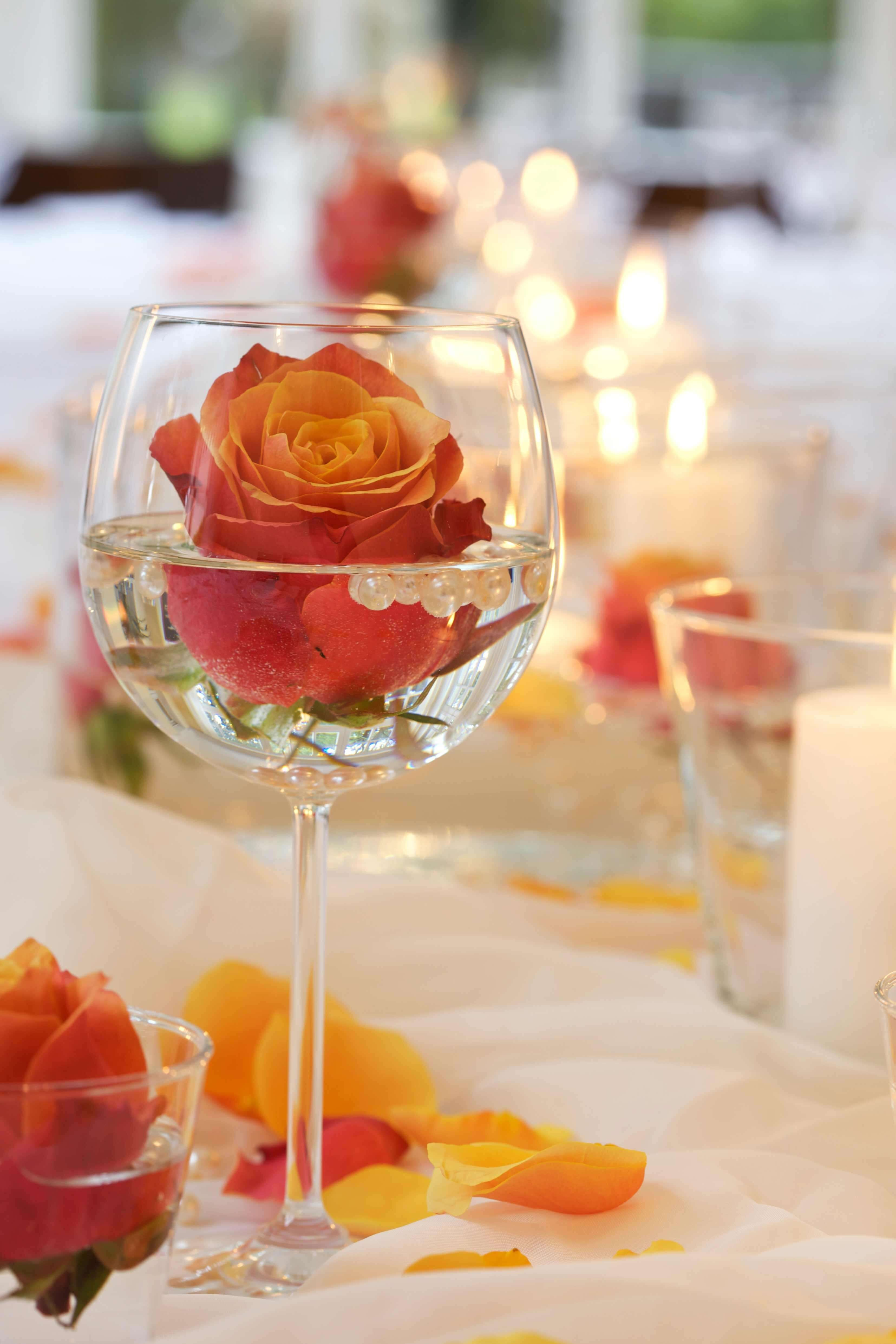 39 Genial Tischdeko Hochzeit Einfach Tischdekoration Hochzeit