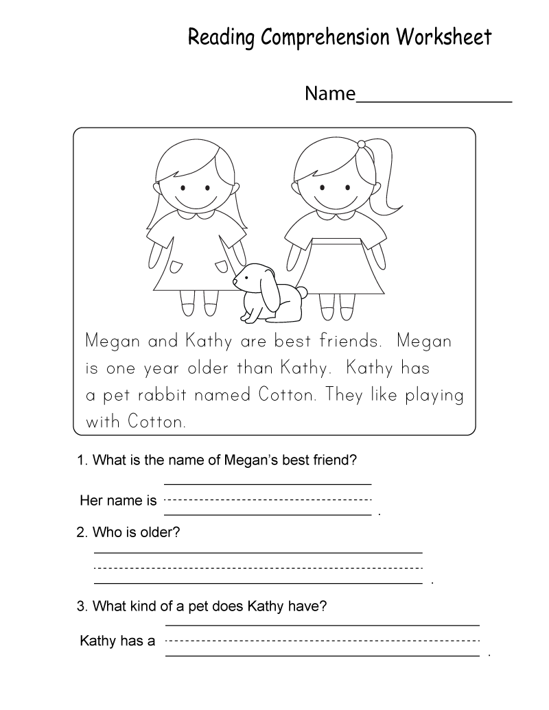 Kindergarten Printable Worksheets PDF
