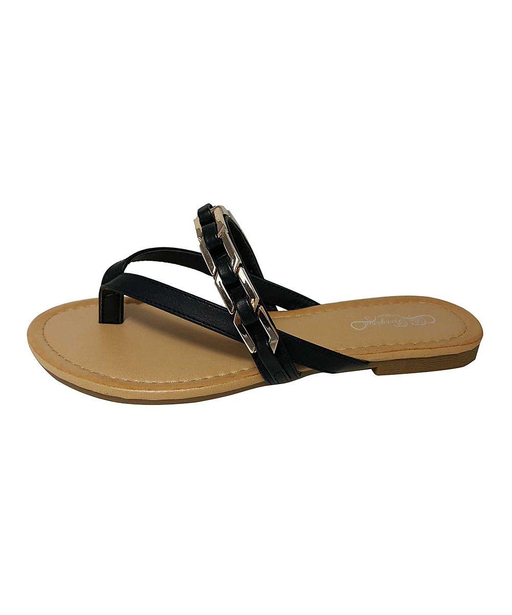 De Bengonia Chain Sandal Black