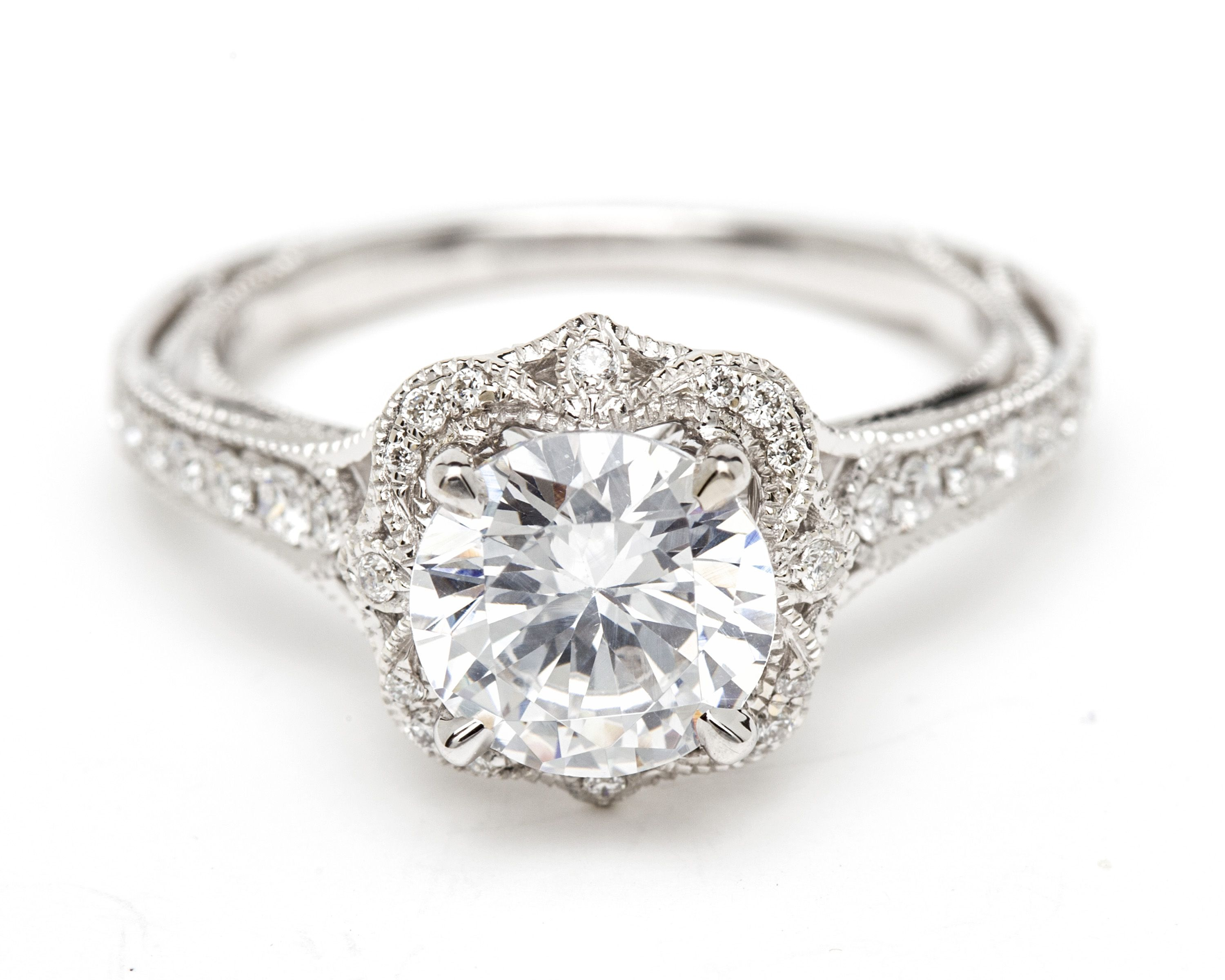 bridal side diamonds rings lugaro forevermark jewellery ring diamond engagement with parade