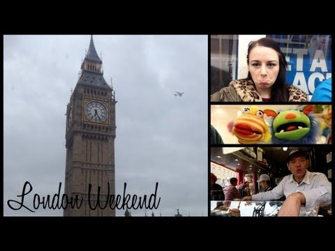 VLOG - London Weekend - YouTube