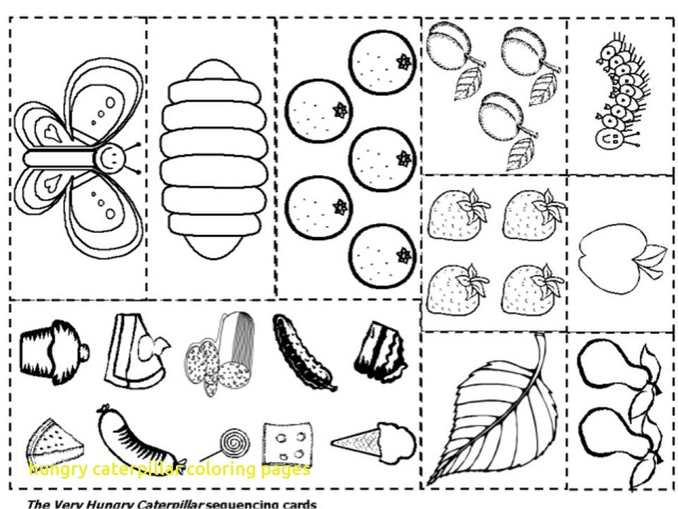 Now Very Hungry Caterpillar Coloring Page Hungry