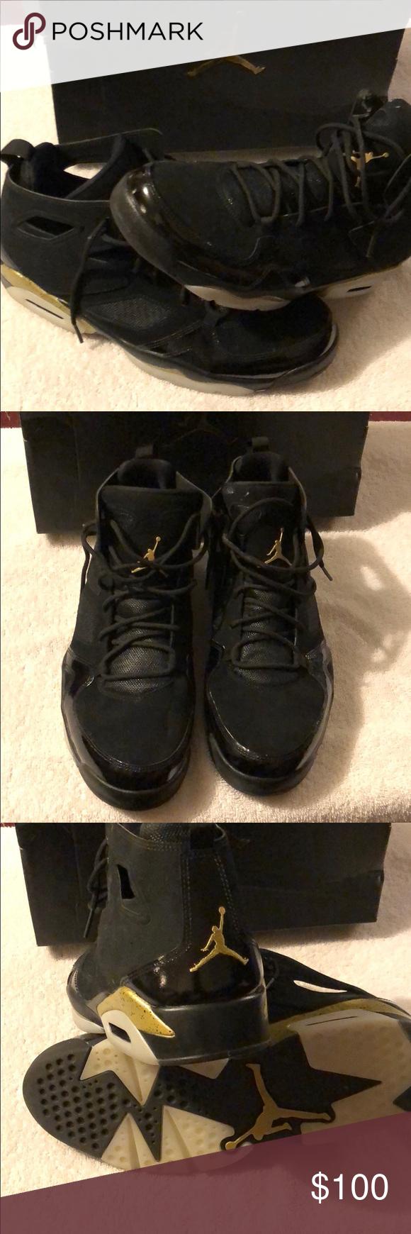 5f429b8c354a35 Authentic Jordan CP3.X AE Authentic Jordan CP3.X AE Black   Sail   Dark  Grey Worn Once Jordan Shoes Sneakers