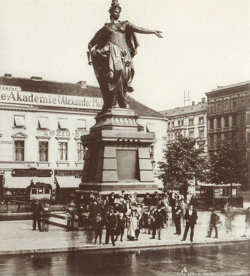 Lucien Levy Berlin Alexanderplatz Mit Berolina 1895 Historische Fotos Berlin Geschichte Historisch