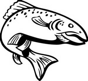 Trout Drawing Outline Bing Images With Images Drawings