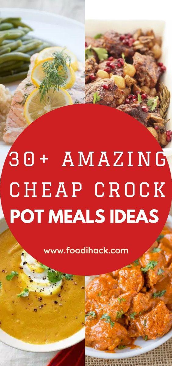 30 Amazing Cheap Crock Pot Meals Ideas Crockpot Recipes Easy Slow Cooker Chicken Recipes Crockpot Recipes Cheap