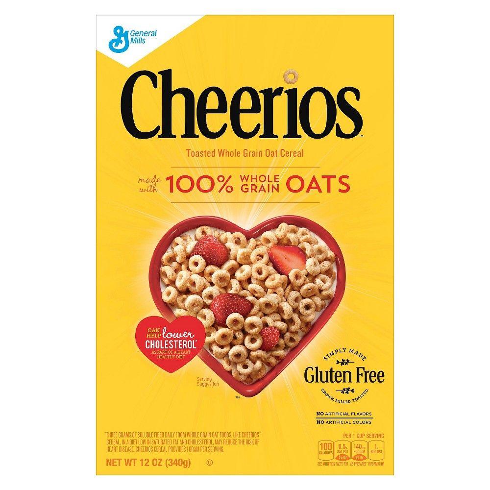 Cheerios Breakfast Cereal 12oz General Mills