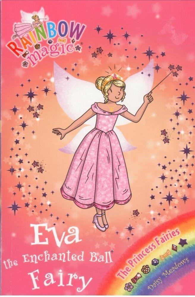 990af4204b71 Rainbow Magic #112 - Princess Fairies - Eva the Enchanted Bell Fairy by -  S/Hand