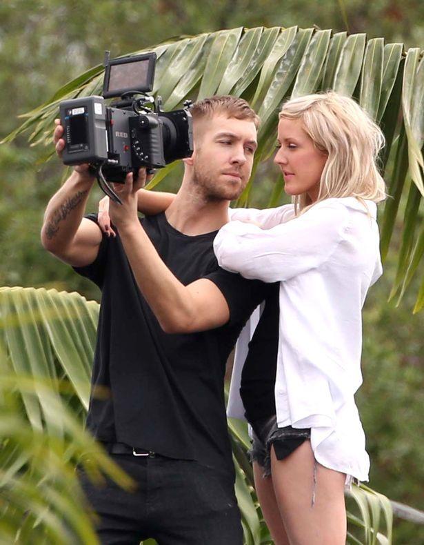 Is Ellie Goulding Dating Skrillex And Calvin Harris