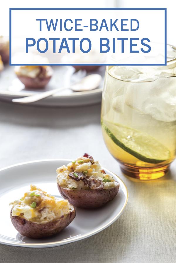 Twice Baked Potato Bites Recipe Twice baked potatoes