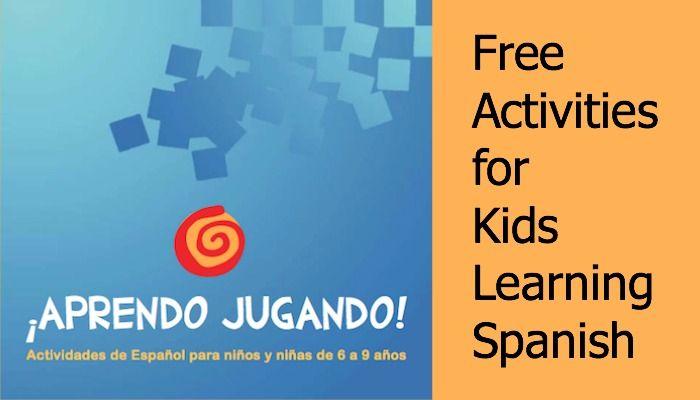 Free activity book for teaching children Spanish | Free activities ...