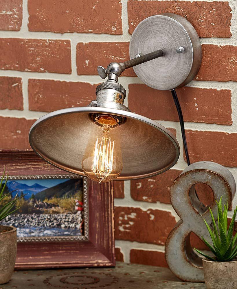 Rustic Metal Wall Lamps in 2019 Lighting, Unique lamps