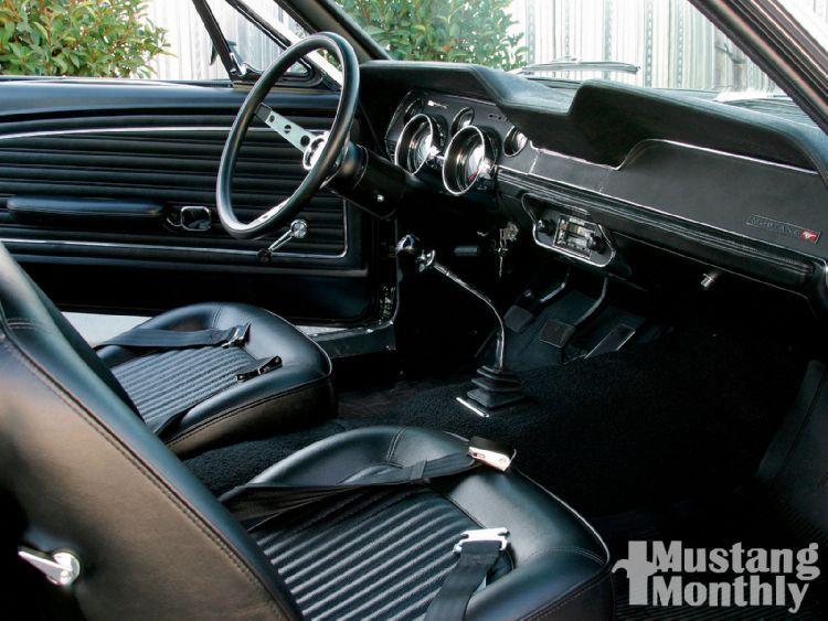 1968 Mustang Gt 390 Interior Mustang Bullitt Ford Mustang